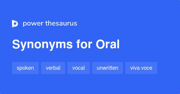 Oral Synonym