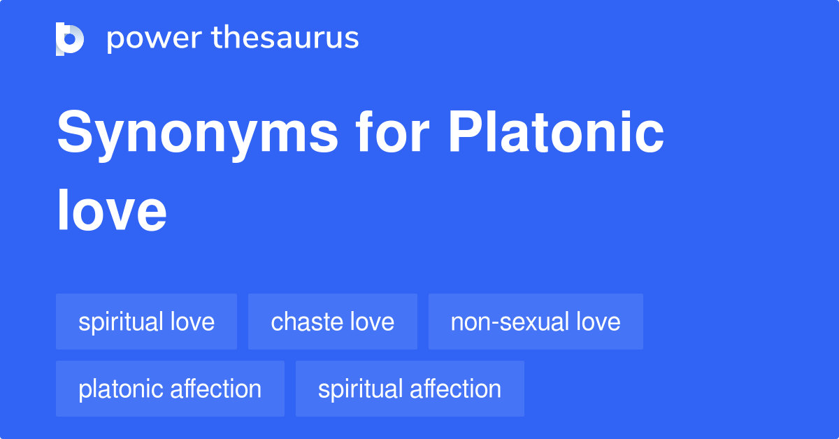 Love what is definition platonic What Every